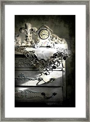 Framed Print featuring the photograph Vintage Time by Diana Angstadt