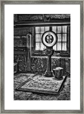Vintage Toledo No Springs Scale Bw II Framed Print