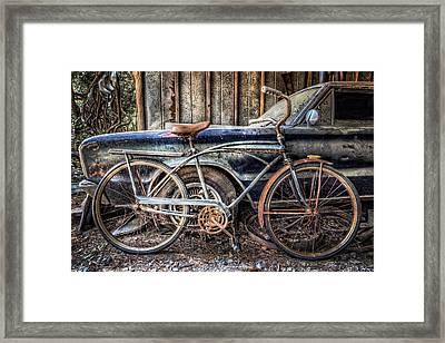 Vintage Transportation Framed Print