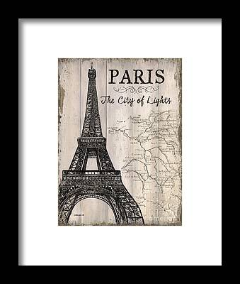 Paris Framed Prints