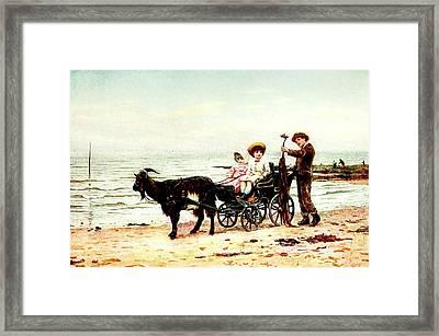 Vintage Travel Framed Print