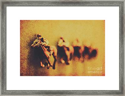Vintage Trots Framed Print by Jorgo Photography - Wall Art Gallery