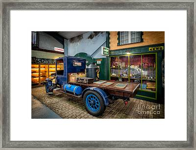 Vintage Truck Framed Print by Adrian Evans