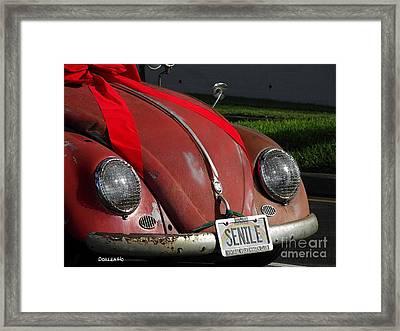 Vintage Volkswagen Framed Print