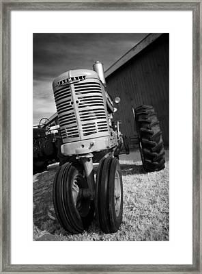 Vintage Workhorse - Farmall Framed Print