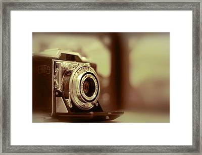 Vintage Zeiss Ikon Framed Print by A R Williams
