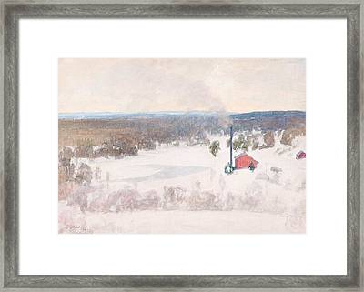 Vinter View From Outokump Framed Print