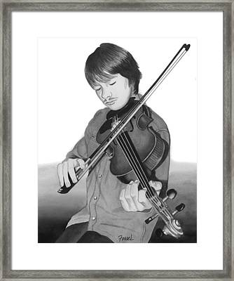 Framed Print featuring the painting Viola Master by Ferrel Cordle