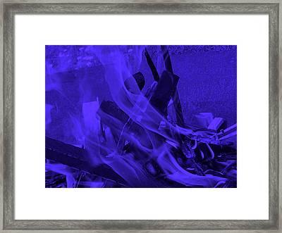 Violet Shine I I Framed Print
