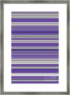 Violet Framed Print by Tim Gainey