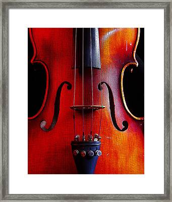 Violin # 2 Framed Print by Jim Mathis