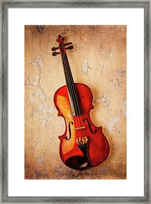 Violin Dreams Framed Print