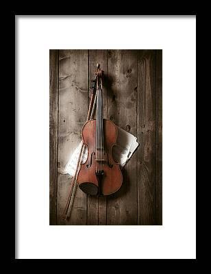 Sheet Music Framed Prints