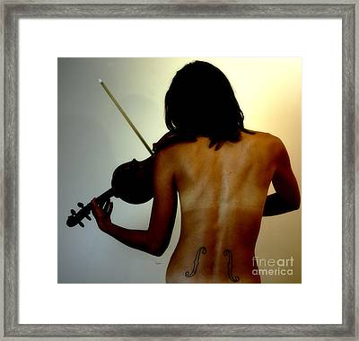 Violin Intensive   Framed Print