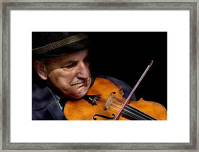 Violin Player Framed Print by Todd Fox