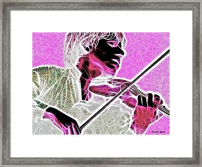 Violin Framed Print by Stephen Younts