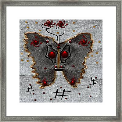 Vip With Something Important To Tell Framed Print by Pepita Selles
