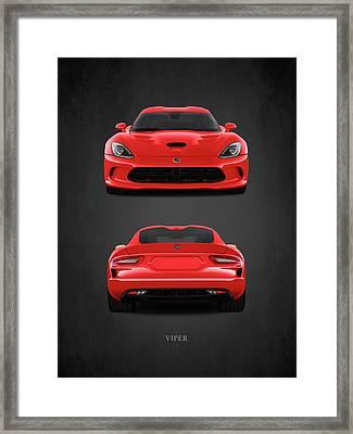 Viper Framed Print by Mark Rogan