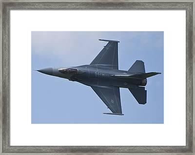 Viper West F16 Demo Team Framed Print
