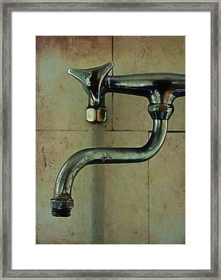 Viral Tap Framed Print by Odd Jeppesen