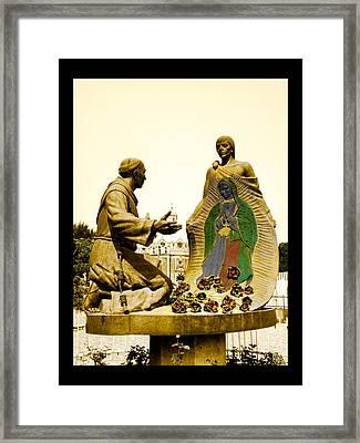 Virgen De Guadalupe 1 Framed Print