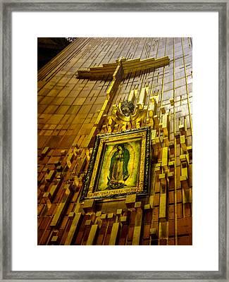 Virgen De Guadalupe 10 Framed Print