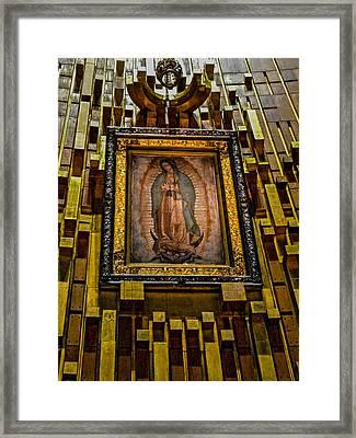 Virgen De Guadalupe 6 Framed Print