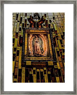 Virgen De Guadalupe 7 Framed Print