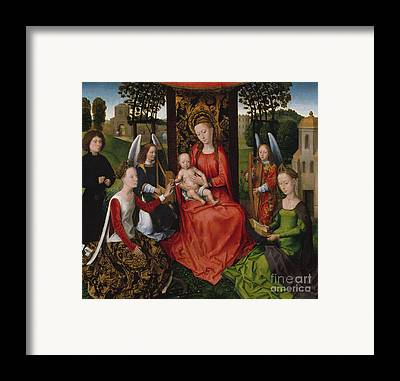 St Barbara Framed Prints