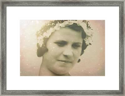 Virgin Bride 2 Framed Print by Shirley Sirois