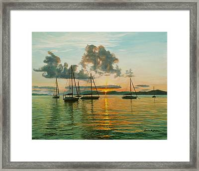 Virgin Islands Framed Print by Bruce Dumas