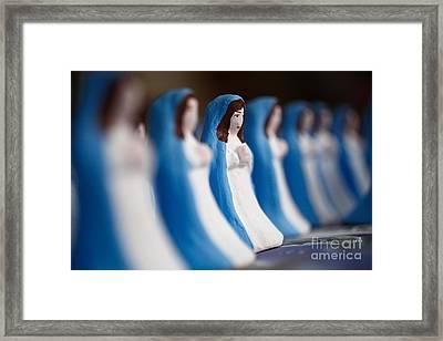 Virgin Mary Framed Print by Gaspar Avila