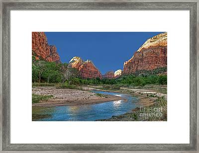 Virgin River Bend Framed Print