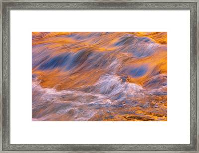 Framed Print featuring the photograph Virgin River Voodoo by Mike Lang