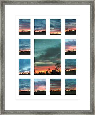 Virgina Lights Framed Print