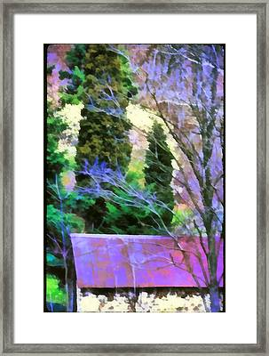 Virginia Barn Framed Print