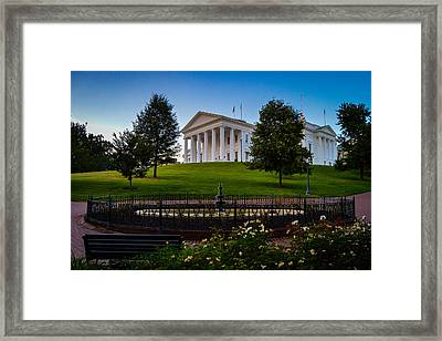 Virginia Capitol Building Framed Print
