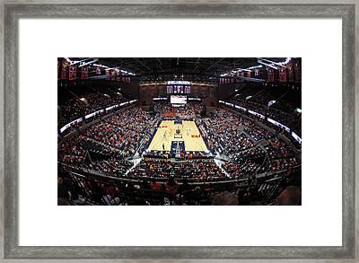 Virginia Cavaliers John Paul Jones Arena Framed Print