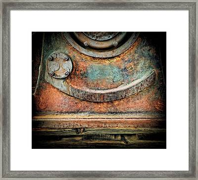 Virginia City Rust Framed Print