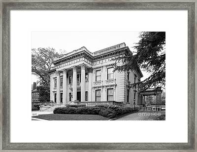 Virginia Commonwealth University Scott House Framed Print
