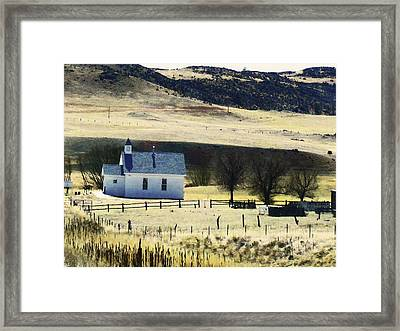 Virginia Dale Colorado Framed Print