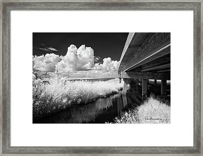 Virginia Dare Bridge 6303 Framed Print by Dan Beauvais