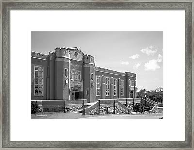 Virginia Military Institute Crozet Hall Framed Print by University Icons