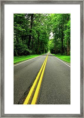 Virginia Road Framed Print