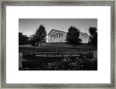 Virginia State Capitol Framed Print