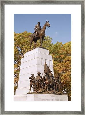 Virginia State Monument Framed Print