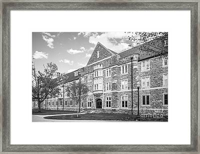 Virginia Tech Campbell Hall Framed Print