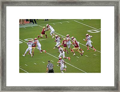 Virginia Tech Football Homecoming Framed Print by Betsy Knapp