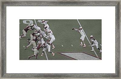 Virginia Tech Lane Stadium 2016 Framed Print by Betsy Knapp