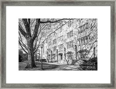 Virginia Tech Smyth Hall Framed Print
